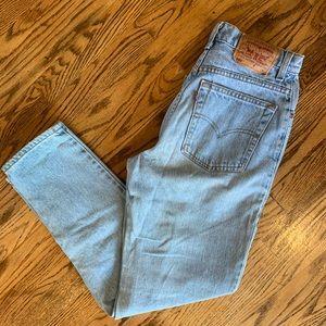 Vintage 550 Levi's Mom high waisted Jeans sz 8R